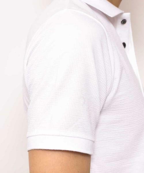 MICHEL KLEIN HOMME / ミッシェルクランオム カットソー | ポロシャツ(COOL MAXサッカー) | 詳細25