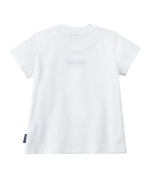 MIKI HOUSE / ミキハウス Tシャツ   ロゴ刺しゅう入り半袖Tシャツ   詳細1