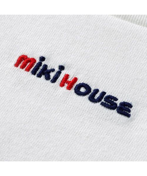 MIKI HOUSE / ミキハウス Tシャツ   ロゴ刺しゅう入り半袖Tシャツ   詳細2