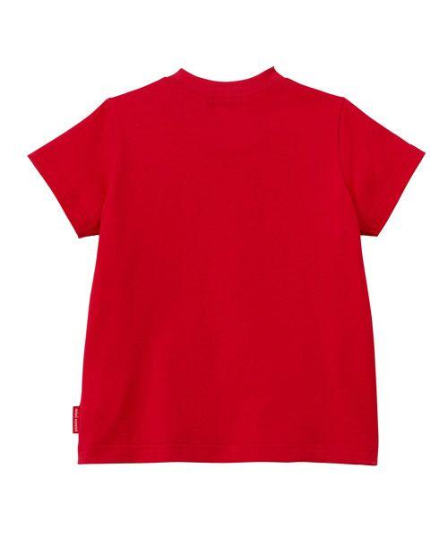 MIKI HOUSE / ミキハウス Tシャツ   ロゴ刺しゅう入り半袖Tシャツ   詳細5