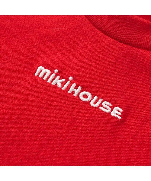 MIKI HOUSE / ミキハウス Tシャツ   ロゴ刺しゅう入り半袖Tシャツ   詳細6