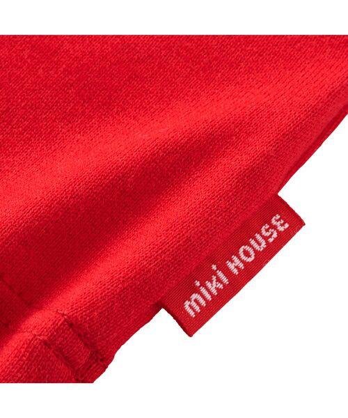 MIKI HOUSE / ミキハウス Tシャツ   ロゴ刺しゅう入り半袖Tシャツ   詳細7