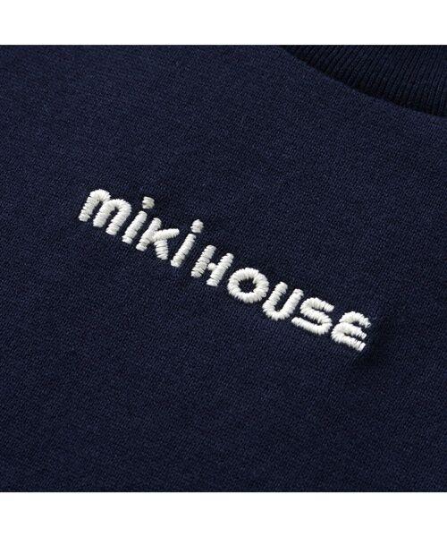 MIKI HOUSE / ミキハウス Tシャツ   ロゴ刺しゅう入り半袖Tシャツ   詳細11