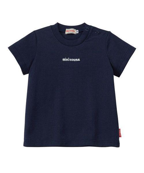 MIKI HOUSE / ミキハウス Tシャツ   ロゴ刺しゅう入り半袖Tシャツ   詳細14