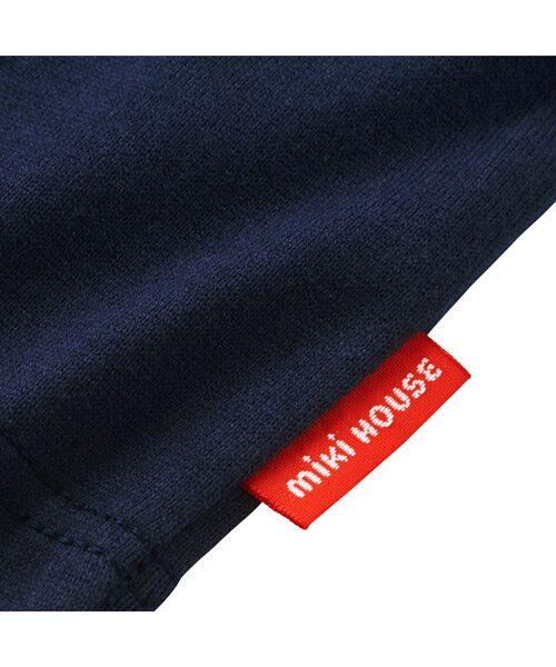 MIKI HOUSE / ミキハウス Tシャツ   ロゴ刺しゅう入り半袖Tシャツ   詳細12