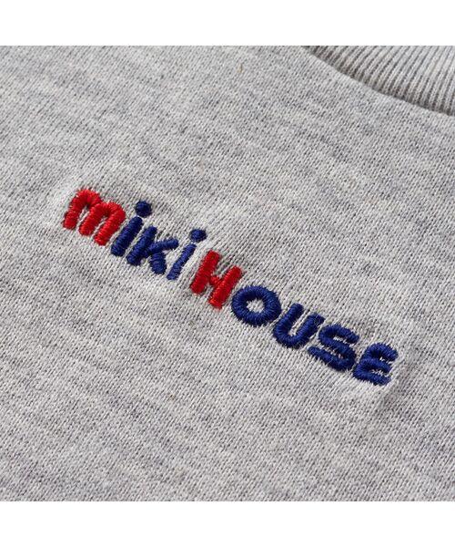 MIKI HOUSE / ミキハウス Tシャツ   ロゴ刺しゅう入り半袖Tシャツ   詳細17