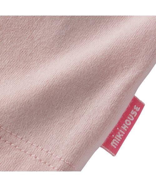 MIKI HOUSE / ミキハウス Tシャツ   ロゴ刺しゅう入り半袖Tシャツ   詳細22