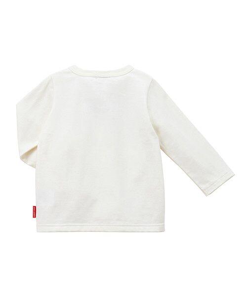 MIKI HOUSE / ミキハウス Tシャツ | ロゴ刺繍長袖Tシャツ | 詳細1