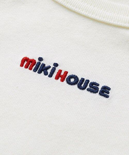 MIKI HOUSE / ミキハウス Tシャツ | ロゴ刺繍長袖Tシャツ | 詳細2