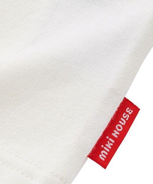 MIKI HOUSE / ミキハウス Tシャツ | ロゴ刺繍長袖Tシャツ | 詳細3