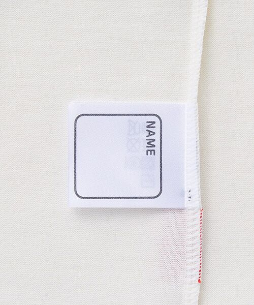 MIKI HOUSE / ミキハウス Tシャツ | ロゴ刺繍長袖Tシャツ | 詳細4
