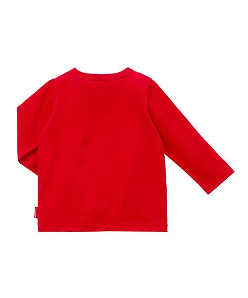 MIKI HOUSE / ミキハウス Tシャツ | ロゴ刺繍長袖Tシャツ | 詳細5