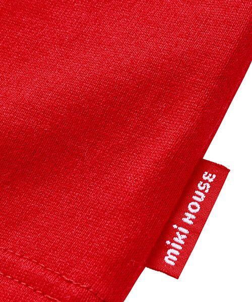 MIKI HOUSE / ミキハウス Tシャツ | ロゴ刺繍長袖Tシャツ | 詳細7