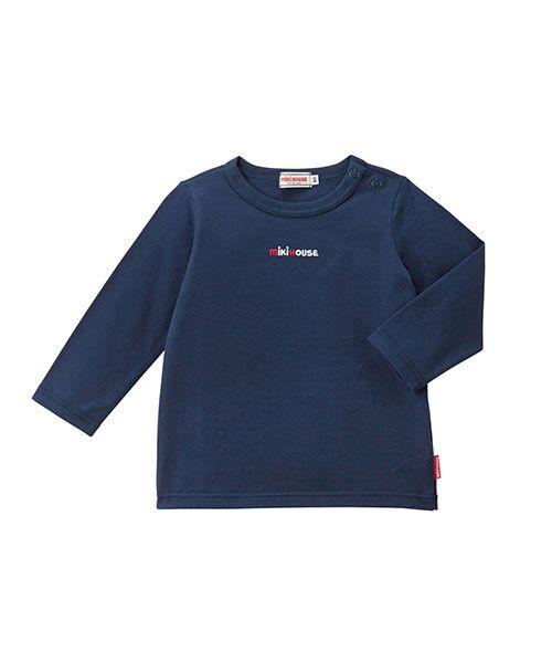 MIKI HOUSE / ミキハウス Tシャツ | ロゴ刺繍長袖Tシャツ | 詳細9