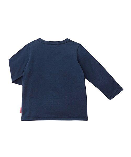 MIKI HOUSE / ミキハウス Tシャツ | ロゴ刺繍長袖Tシャツ | 詳細10