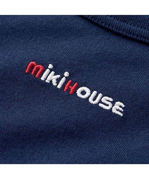 MIKI HOUSE / ミキハウス Tシャツ | ロゴ刺繍長袖Tシャツ | 詳細11