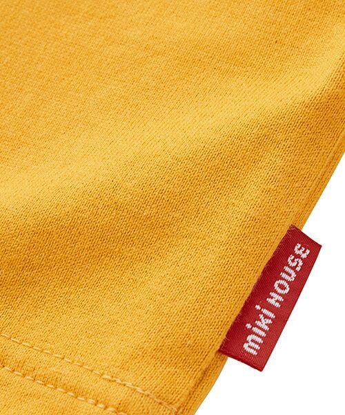 MIKI HOUSE / ミキハウス Tシャツ | ロゴ刺繍長袖Tシャツ | 詳細17
