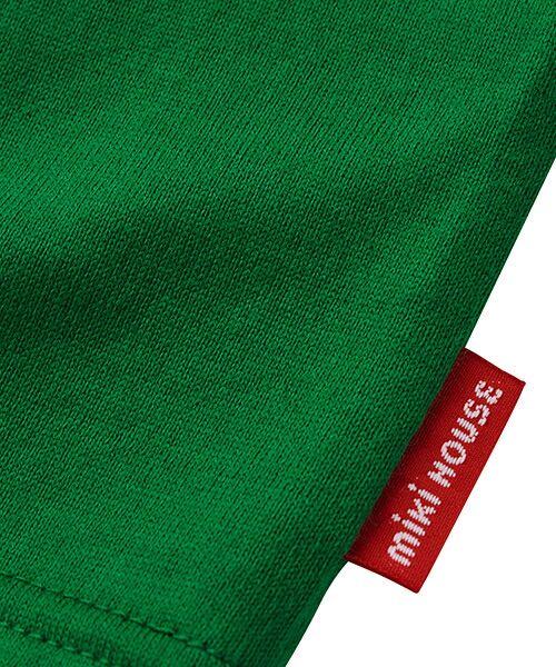 MIKI HOUSE / ミキハウス Tシャツ | ロゴ刺繍長袖Tシャツ | 詳細21
