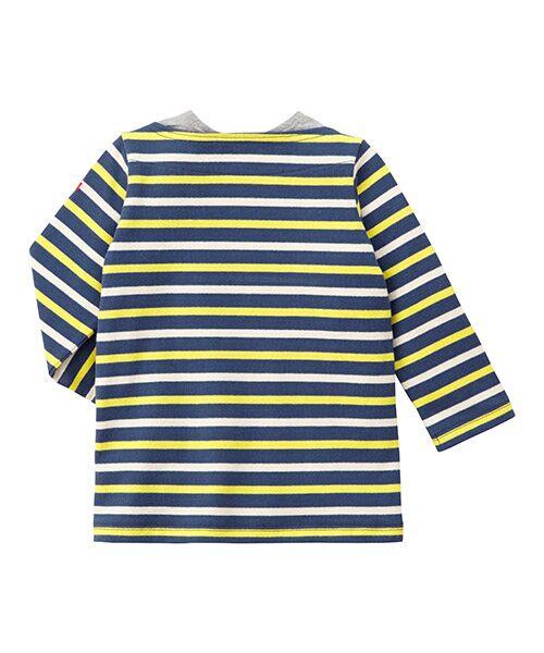 MIKI HOUSE / ミキハウス Tシャツ | ボーダー長袖Tシャツ | 詳細1