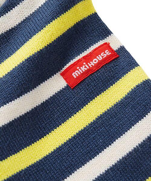 MIKI HOUSE / ミキハウス Tシャツ | ボーダー長袖Tシャツ | 詳細3
