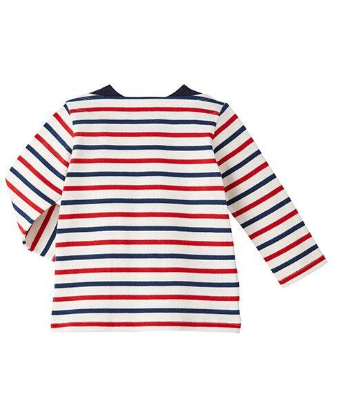MIKI HOUSE / ミキハウス Tシャツ | ボーダー長袖Tシャツ | 詳細5