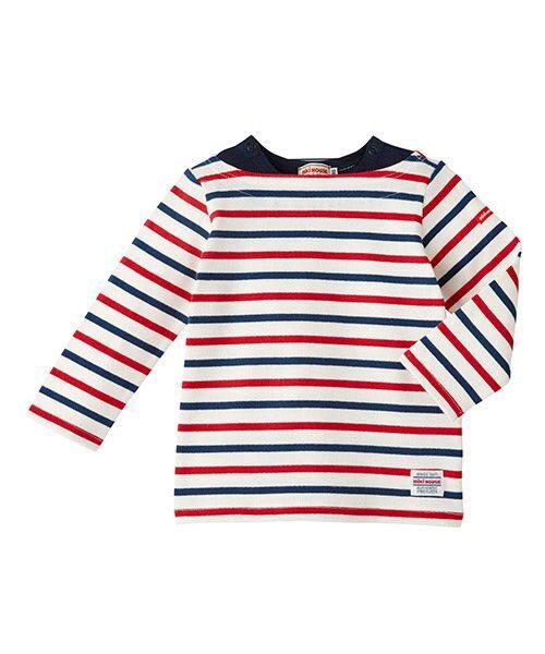 MIKI HOUSE / ミキハウス Tシャツ | ボーダー長袖Tシャツ | 詳細10