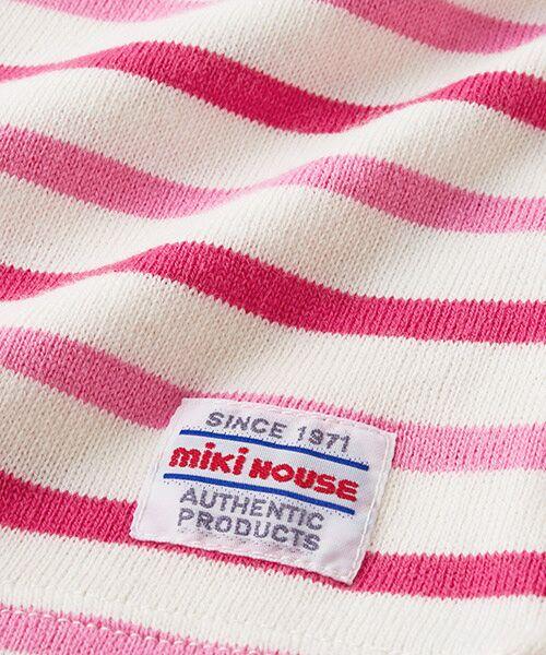 MIKI HOUSE / ミキハウス Tシャツ | ボーダー長袖Tシャツ | 詳細15