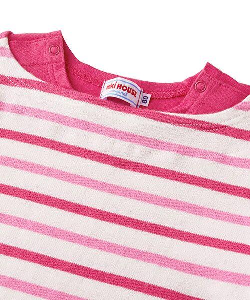 MIKI HOUSE / ミキハウス Tシャツ | ボーダー長袖Tシャツ | 詳細18