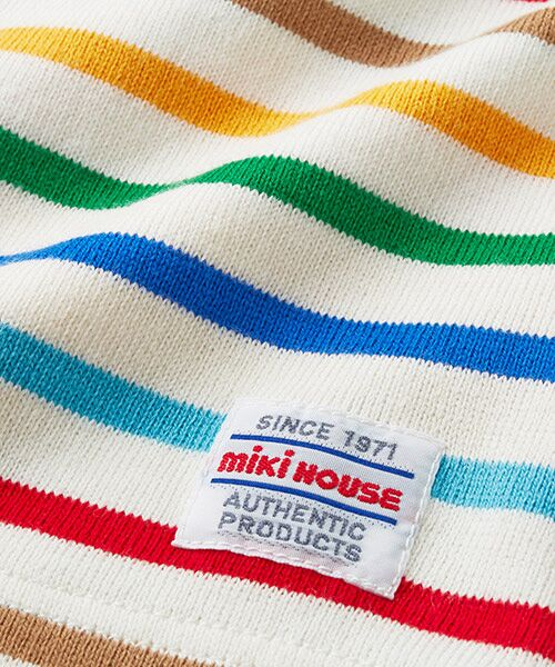 MIKI HOUSE / ミキハウス Tシャツ | ボーダー長袖Tシャツ | 詳細20