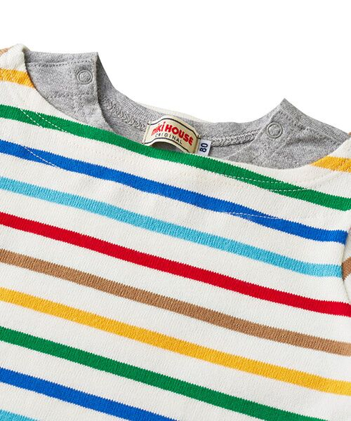 MIKI HOUSE / ミキハウス Tシャツ | ボーダー長袖Tシャツ | 詳細23