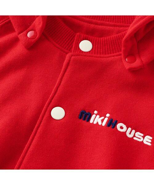 MIKI HOUSE / ミキハウス パーカー | バックロゴパーカー | 詳細6