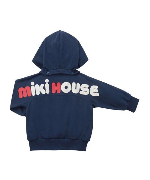 MIKI HOUSE / ミキハウス パーカー | バックロゴパーカー | 詳細11