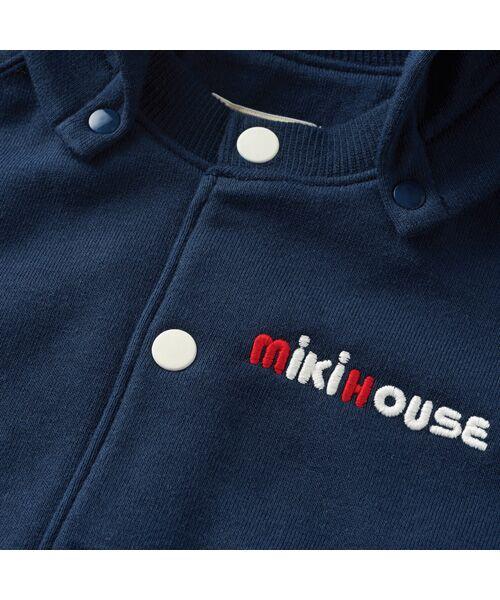 MIKI HOUSE / ミキハウス パーカー | バックロゴパーカー | 詳細16