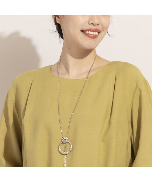 MISSEL / ミゼール シャツ・ブラウス | レーヨン麻スカラップ刺繍ブラウス | 詳細3