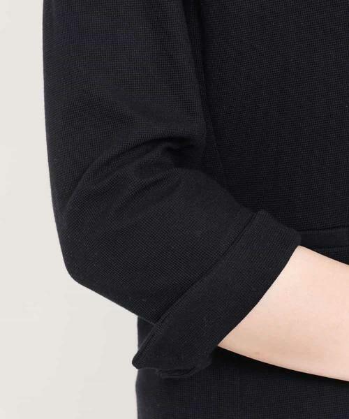 MK MICHEL KLEIN / エムケーミッシェルクラン テーラードジャケット | 【洗える】ワッフルカラーレスジャケット | 詳細8