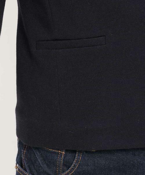 MK MICHEL KLEIN / エムケーミッシェルクラン テーラードジャケット | 【洗える】ワッフルカラーレスジャケット | 詳細9