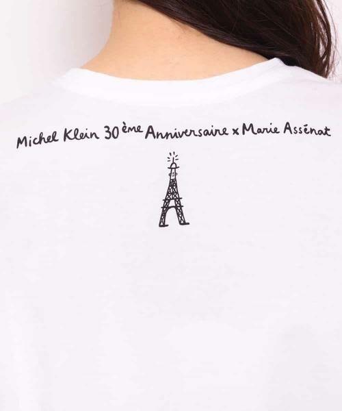 MK MICHEL KLEIN / エムケーミッシェルクラン カットソー | 【Marie Ass?nat×MICHEL KLEIN】コラボTシャツ ?BRAVO!- | 詳細6
