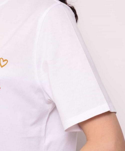 MK MICHEL KLEIN / エムケーミッシェルクラン カットソー | 【Marie Ass?nat×MICHEL KLEIN】コラボTシャツ ?BRAVO!- | 詳細7