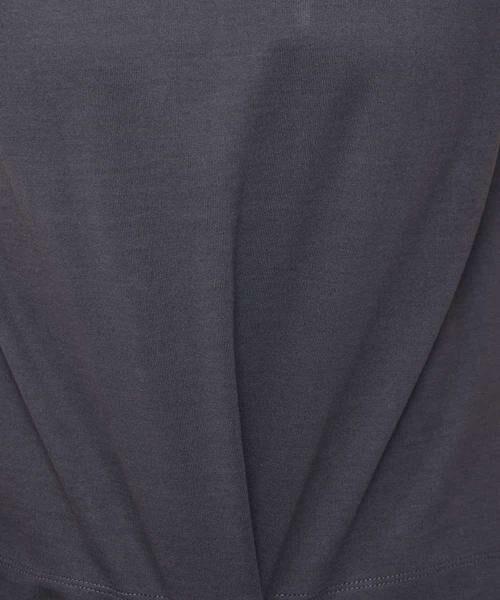 MK MICHEL KLEIN / エムケーミッシェルクラン カットソー   【WEB限定/洗濯機で洗える】発泡ロゴプリントTシャツ   詳細7