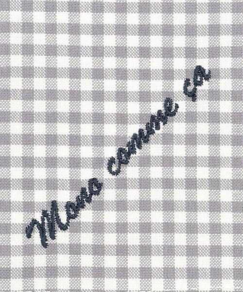 MONO COMME CA / モノコムサ ハンカチ | 【ユニセックス】 ロゴ 刺繍 ハンカチ | 詳細2