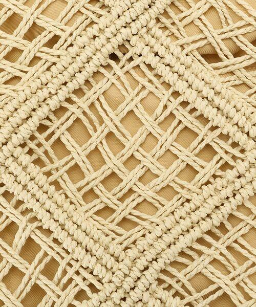 MONO COMME CA / モノコムサ かごバック | マクラメ編み カゴバッグ | 詳細2