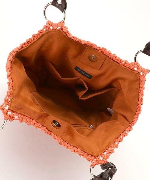 MONO COMME CA / モノコムサ かごバック | マクラメ編み カゴバッグ | 詳細7