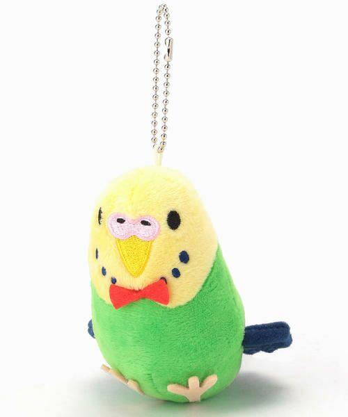 MONO COMME CA / モノコムサ その他 | ぬいぐるみ 小鳥(セキセイインコ)