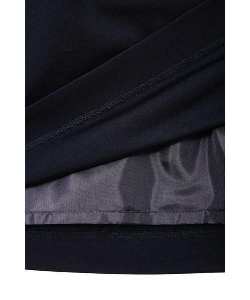 NATURAL BEAUTY / ナチュラルビューティー スカート | ◆モクロディジャージティアードスカート | 詳細8