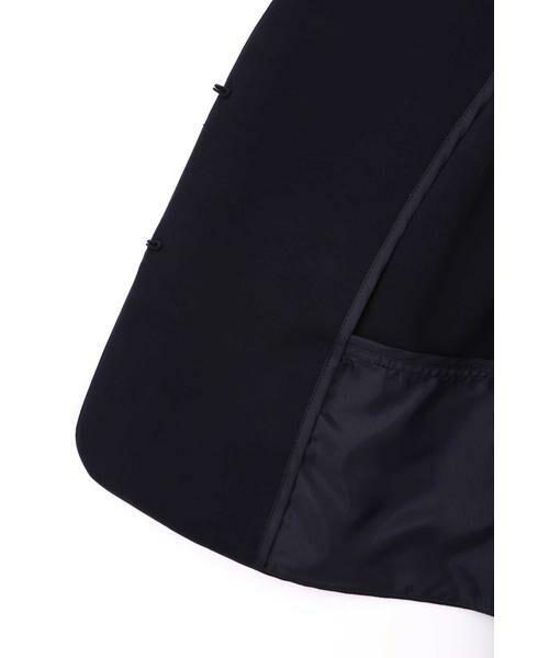 NATURAL BEAUTY / ナチュラルビューティー テーラードジャケット | ナンナストレッチタックペプラムジャケット | 詳細3