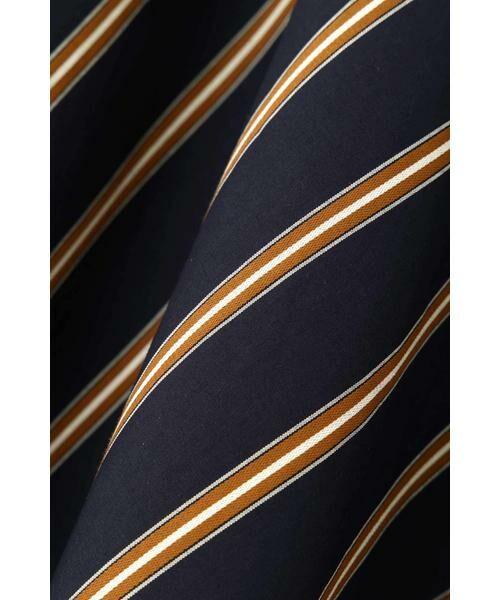 NATURAL BEAUTY / ナチュラルビューティー スカート   ◆[WEB限定商品]サテンストライプフレアースカート   詳細4