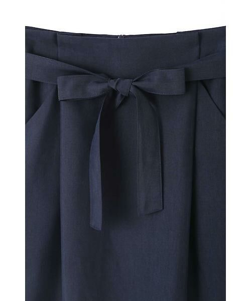 NATURAL BEAUTY BASIC / ナチュラルビューティーベーシック スカート | ウエストリボンタイトスカート | 詳細1