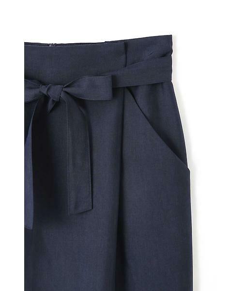 NATURAL BEAUTY BASIC / ナチュラルビューティーベーシック スカート | ウエストリボンタイトスカート | 詳細11