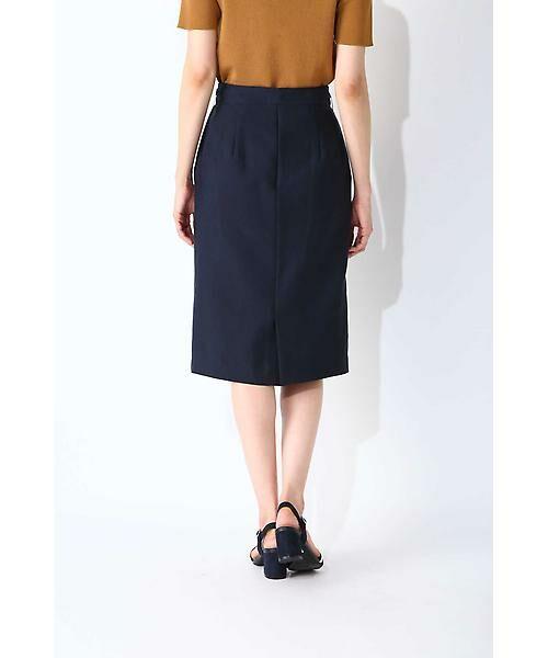 NATURAL BEAUTY BASIC / ナチュラルビューティーベーシック スカート | ウエストリボンタイトスカート | 詳細5