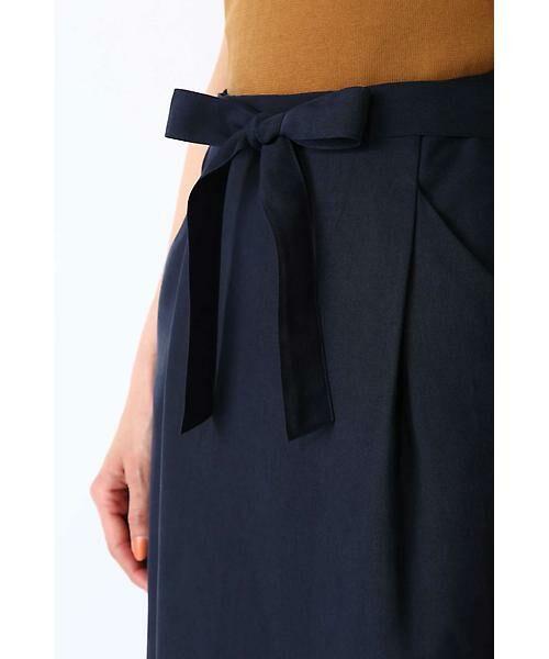 NATURAL BEAUTY BASIC / ナチュラルビューティーベーシック スカート | ウエストリボンタイトスカート | 詳細7
